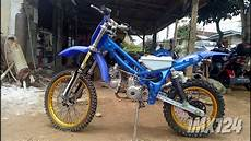 Supra Modif Trail by Honda Supra Grasstrack Yrp 88 Lung Barat