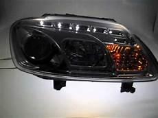 sw light scheinwerfer vw touran caddy typ 1t chrome led