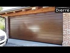 porta sezionale porta per garage sezionale dierre modello freebox