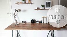 Schreibtisch Selbst Bauen - diy schreibtisch rustikal schreibtisch g 252 nstig selber