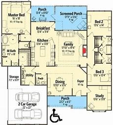 handicapped accessible house plans attractive traditional house plan with handicapped