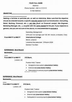 19 resume exles pdf doc free premium templates