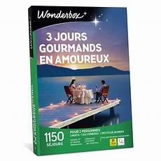 Coffret Cadeau Wonderbox 3 Jours Gourmands En Amoureux