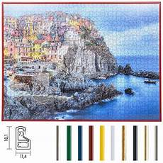 cornici per puzzle ravensburger mira cornice per puzzles in plastica per 1000 pezzi 50x70