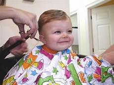 Cutting Newborn Hair