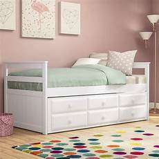 betten mit schubladen kleines zweibettzimmer mit ausziehbarem bett betten f 252 r