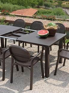 tavoli per esterni tavolo levante nardi tavolo da giardino ed esterni