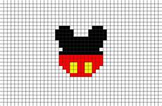 mickey pixel mickey mouse pixel brik