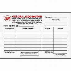 contoh nota service mobil