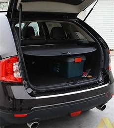 ford edge kofferraum car rear trunk security shield shade cargo cover for ford