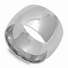 stainless steel mens wedding rings men s s wide ring unique stainless steel wedding band new 15mm sizes 4 ebay