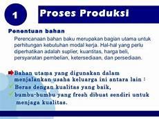 ppt proses produksi nasi goreng
