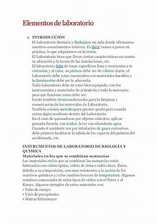 elementos de laboratorio monografia