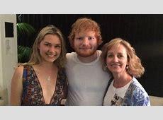 ed sheeran's mother's death