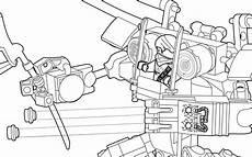 ausmalbild ninjago garmadons motorrad bild