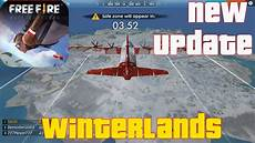 winter update free fire free new update winterlands gameplay android 60