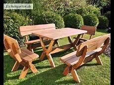 Gartenmöbel Set Holz - massivholz gartenm 246 bel set