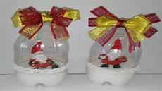 como hacer bolas de nieve con botellas de plastico manualidades tutorial diy how to make
