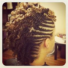 Mohawk Hairstyles With Twists