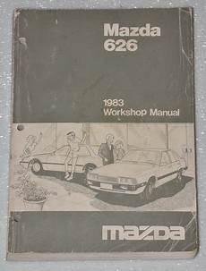 book repair manual 1999 mazda 626 engine control 1983 mazda 626 2 0l original factory dealer work shop service repair manual book ebay
