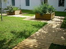 chemin bois jardin escaladune nos produits professionnels caillebotis