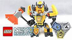 Lego Nexo Knights Ausmalbilder Axl Lego Nexo Knights Battle Suit Axl Review 2017 Set 70365