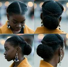updos for type 4 natural hair