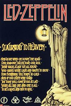 led zeppelin stairway to heaven testo andare oltre