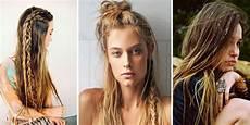 mode hippie femme ée 70 coiffure boh 232 me les plus belles coiffures rep 233 r 233 es sur
