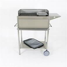 edelstahl grill holzkohle grill typ ibiza grill wagen bbq