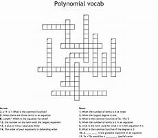 polynomial crossword puzzle darkow wordmint