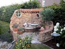 Gartenidee Sitzecken Garten Garten Und Steinmauer Garten