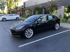 tesla model 3 black black model 3 performance fresh from fremont teslamodel3