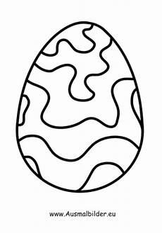 Gratis Malvorlagen Osterei Ausmalbilder Ostern Ausmalbild Osterei Mit Wellen Zum