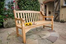 heritage oak 5ft garden bench 3 seater 163 330 garden4less uk shop