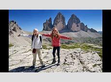 Dolomiti 2015 Tre cime di Lavaredo YouTube