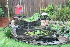 koi pond garden landscape design