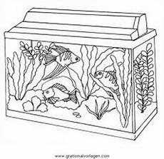 Ausmalbilder Fische Aquarium Aquarium Aquariumfische 01 Gratis Malvorlage In Fische