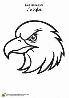 une t 234 te d aigle 224 colorier eagle drawing eagle