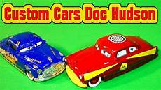 pixar cars 3 custom doc hudson with fabulous lightning mcqueen colors die cast painting youtube