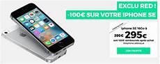 By Sfr Rembourse 100 Euros Sur L Iphone Se De 16 Ou 64 Go