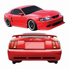 Duraflex Cbr500 Wide Kit 8 Pc For Ford Mustang 99 04