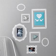 Photo Wall Sticker pack of seven picture frame wall stickers by nutmeg
