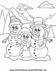 Kostenlose Ausmalbilder Zum Ausdrucken Winter Ausmalbilder Schneemann Winter Zum Ausmalen