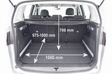 zafira b kofferraumvolumen adac auto test opel zafira tourer 2 0 cdti ecoflex start