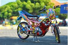 Motor Satria Modifikasi by Modifikasi Motor Satria Fu 150cc Racing Look 2014 Motor