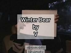 winter by taehyung lyrics