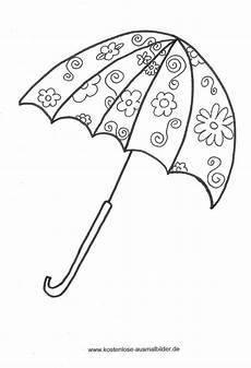 Gratis Malvorlagen Regenschirm Pdf Malvorlagen Ausmalbilder Regenschirm Malvorlagen