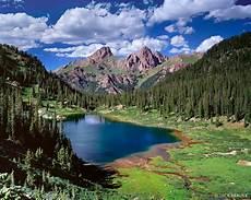 Emerald Green Weminuche Wilderness Colorado Mountain