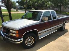car repair manuals download 1994 gmc 2500 club coupe electronic valve timing gmc sierra 2500 extended crew cab pickup 1994 silver maroon for sale 1gtgc29k6re551216 1994